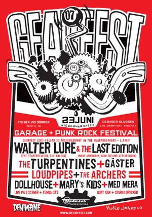 Gearfest poster
