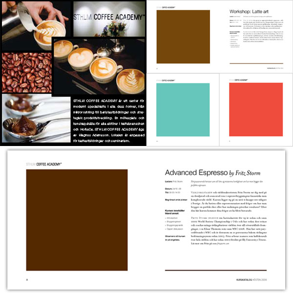 Färger och typografi