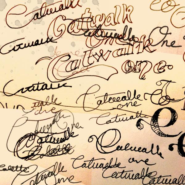 Catwalkone handdrawn sketches