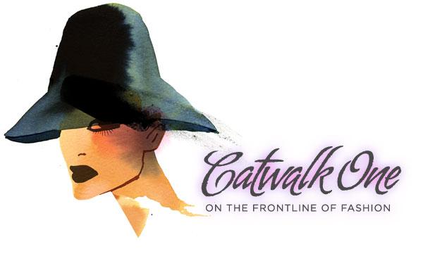 Catwalkone logo illustration by illustrator Moa Bartling