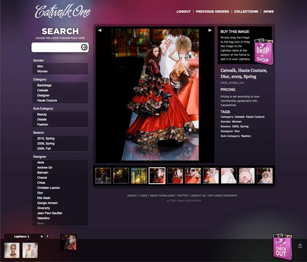 CatwalkOne details page