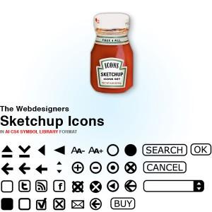 Webdesign icons catalogue
